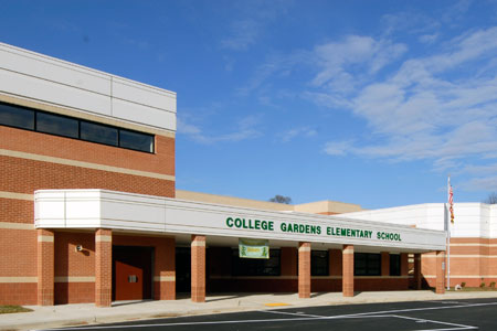 College Gardens ES building