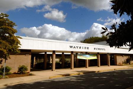 Wayside ES building