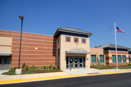 Cashell ES building