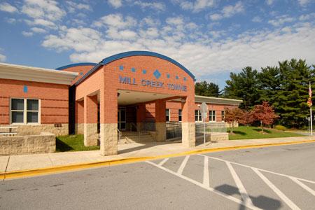 Mill Creek Towne ES building