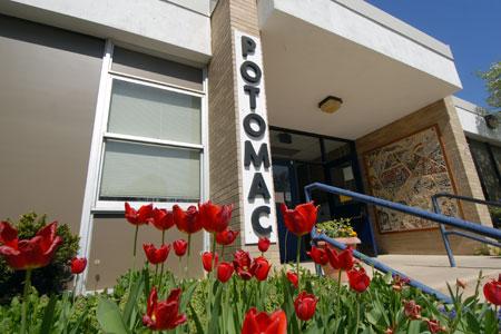 Potomac ES building