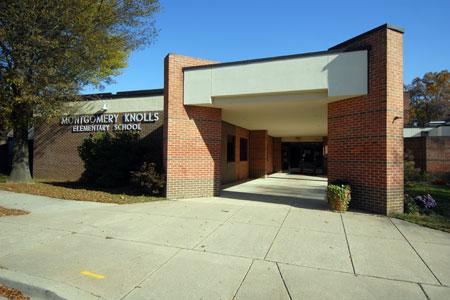 Montgomery Knolls ES building