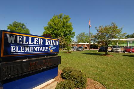 Weller Road ES building