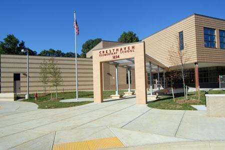Cresthaven ES building