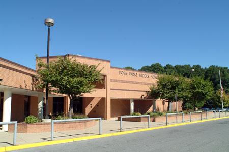 Rosa M. Parks MS building
