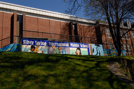 Silver Spring International MS building