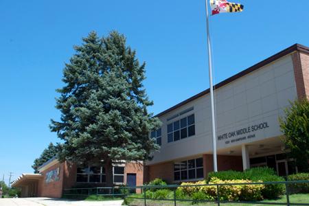 White Oak MS building