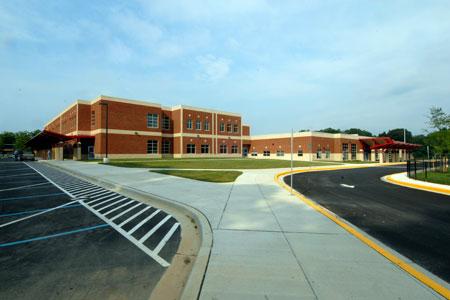Parkland MS building