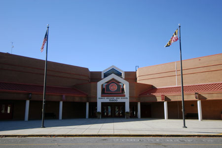 Quince Orchard HS building