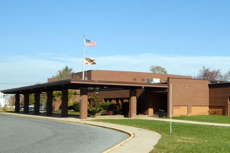 Poolesville HS building