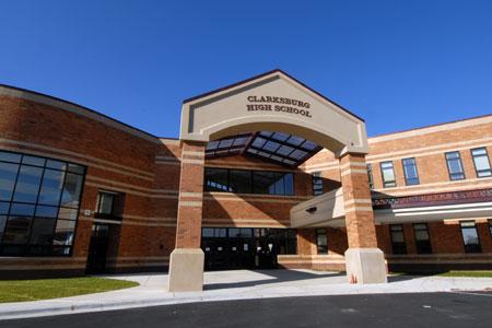 Clarksburg HS building
