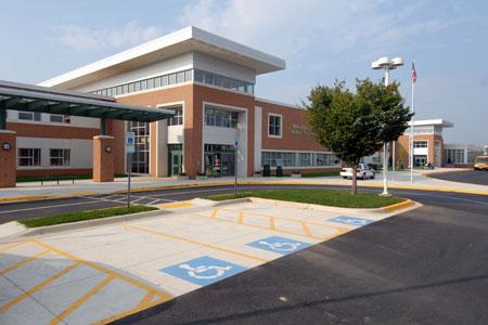 Walter Johnson HS building