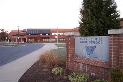 Watkins Mill HS building