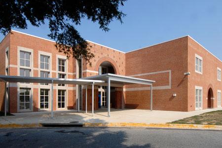 Gaithersburg HS building
