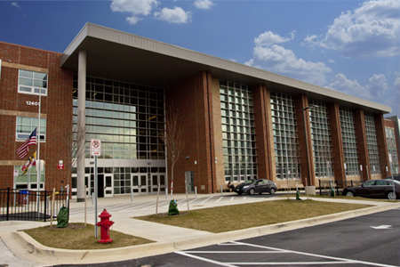 Wheaton HS building